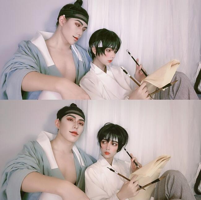 野画集温柔的尹胜浩少爷和娇媚的小画家cosplay
