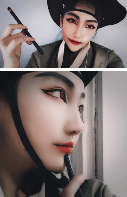 《野画集》热门cosplay 尹渣渣尹胜浩专业cos