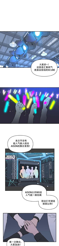 韩漫《浪漫的背后故事》/《与你发光》  队员x队长,娱乐圈love story